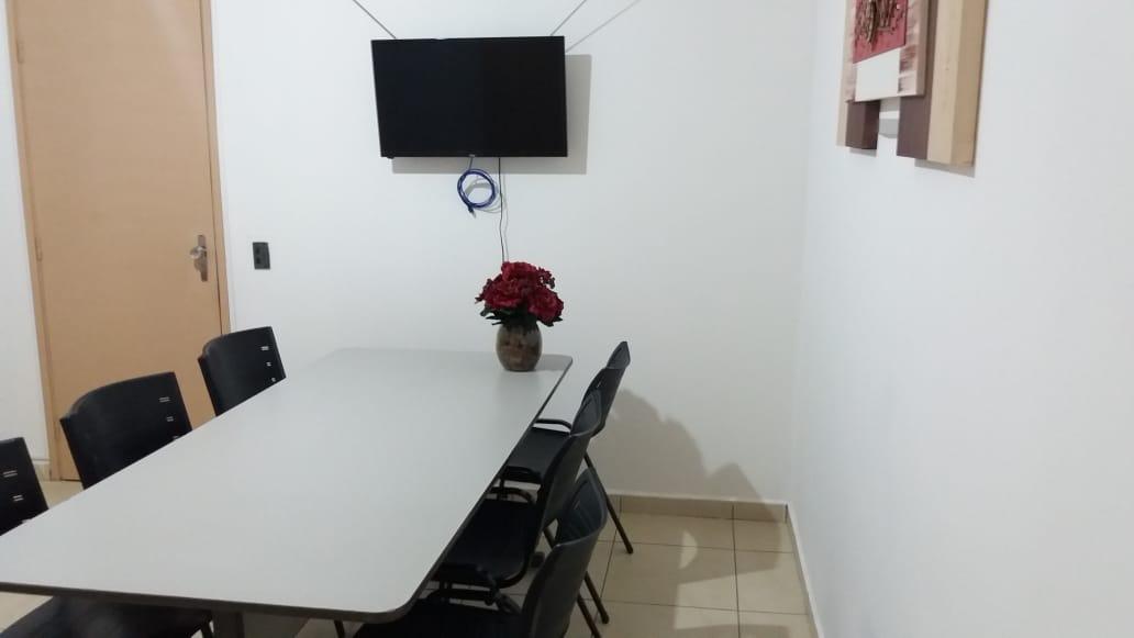Foto da sala de reunião