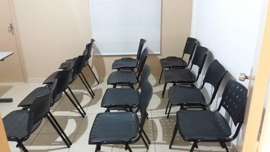 Foto da sala de treinamento
