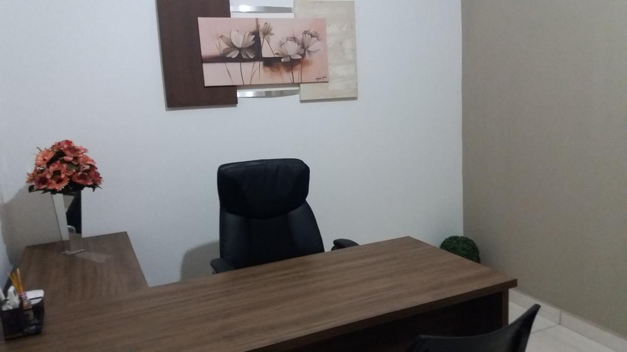 Foto da sala do consultório
